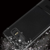 Litchi кожи подошва из термопластичного полиуретана для телефона Samsung Galaxy примечание 8