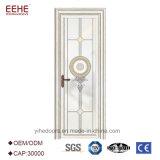 Diseño de cristal de la puerta de la lumbrera de la puerta del oscilación de cristal exterior del metal