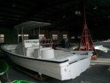 Bateau de croisière de barge de travail de bateau de la fibre de verre 760 de Liya 580