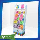 クッキーのツールのためのCmykのオフセット印刷、世帯のボール紙の陳列台を用いる店頭広告のボール紙のPegboardの表示