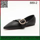 Novo Design salientou a senhora correia plana de calçado