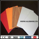 Comitato composito di plastica di alluminio materiale della costruzione di edifici (ALB-010)