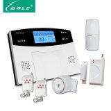 Sistema de alarma sin hilos tocado de la seguridad casera del ladrón del telclado numérico GSM+PSTN