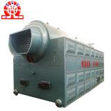 Chaudière à vapeur allumée par biomasse en bois horizontale d'essence de boulette