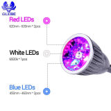 El LED crece la lámpara de escritorio ligera del clip de la luz de la planta