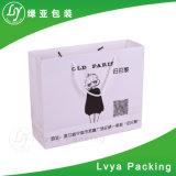 Sac de bijou de sacs de transporteur de papier d'emballage de sac à provisions de promotion
