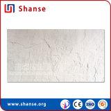 Natürliche Steinbeschaffenheit Schiefer-Schauen weiche weiße Porzellan-Fliese