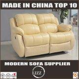 Sofa sectionnel moderne de Recliner de cuir véritable