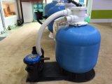 Filtragem da água de quartzo do equipamento da piscina