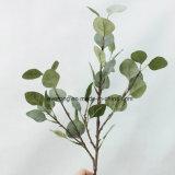Kunstmatige Eucalyptus van de Bladeren van de Installaties van het Gebladerte van de Slinger van de Eucalyptus van de Bloemen van de Zijde van het Blad van de Kunstbloem de Valse Faux Gezaaide in Massa