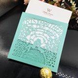 Dirigir la fábrica de papel recubierto de Impresión de tarjetas de invitación de boda personalizado