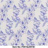 Flor azul filmes de transferência de água 50cm de largura F001qj061b