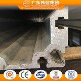 중국 공장 수송 기업을%s 알루미늄 밀어남 단면도