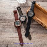 Logotipo personalizado hombre reloj de cuarzo Relojes de Pulsera de moda para hombres (WY-17015D)