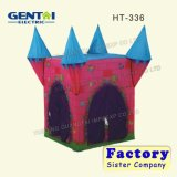 Tente de château de gosses d'enfants de jeu de jeu