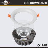 LEIDENE van het Lichaam van het Aluminium van China Ce&RoHS MAÏSKOLF Downlight met 30With40W