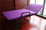 Het Eenvoudige Goedkope Enige Vouwende Bed van goede kwaliteit/het Bed van het Huis/Tijdelijk Bed