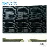 Résistant au feu Panneau insonorisées 3D Panneau de paroi décorative en fibre de polyester pour Hotal