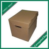 Precio barato al por mayor caja de papel de envío de cartón ondulado