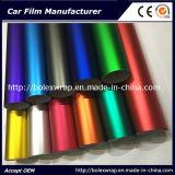 Colores cromo mate caliente vender coche de la película de hielo de Vinilo adhesivo de envoltura de 1,52m de ancho