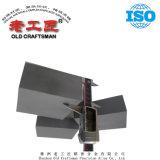8mm et 16 mm d'épaisseur de chemise de carbure cimenté Wear-Resistant Tungsten Prix de la plaque