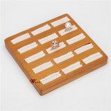 12 مقعد صلبة خشبيّ & [لين] حلق عرض صينيّة