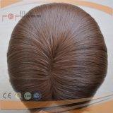 자연적인 색깔 사람의 모발 피부 상단 여자 가발 (PPG-l-0973)