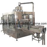 una variedad máquina de rellenar de la leche de la botella