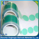 De klantgerichte Groene Plakband van de Isolatie van de Polyester Elektro voor Condensator