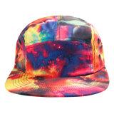 Tampão liso do verão do chapéu do Snapback da borda da forma feita sob encomenda