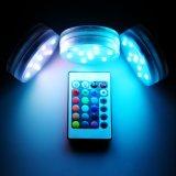 10 светодиодный RGB на полупогружном судне свадебное цветочные вазы базы лампа