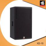 10 Zoll PROpa-System hölzerner DJ-im Freien passiver Lautsprecher