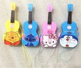 côté mobile de pouvoir de téléphone cellulaire de guitare de pouvoir du dessin animé 3000mAh
