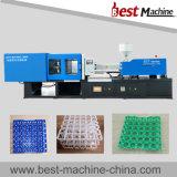 Machine en plastique de moulage par injection de boîte à oeufs avec la qualité