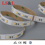 5050SMD imperméabilisent le guide optique de corde flexible de RGBW Ledstrip