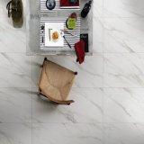 Witte Verglaasde Marmer van het Bouwmateriaal van de Grootte 1200*470 van Volakas poetste het Europese De Ceramische Tegel van de Bevloering voor Woonkamer (VAK1200P) op