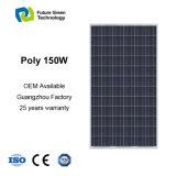панель солнечных батарей силы 150W способной к возрождению фотовольтайческая поли