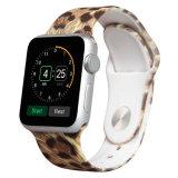 Transfert de l'eau de l'impression en caoutchouc Bracelet en silicone pour Apple Watch