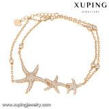 74616 Stern-Form-Kostüm-Schmucksache-Frauen-Armband des Form-elegantes Gold18k