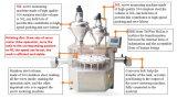 Protainの包装のココアまたはコーヒーまたは粉(JA-30/50)のための2つのオーガーの注入口が付いている自動充填機