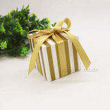 Cardboard Box with Bow Favor Box Small Gift Box with Ribbon