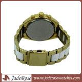 La mujer la moda casual Watch 30m de lujo relojes de cuarzo resistente al agua