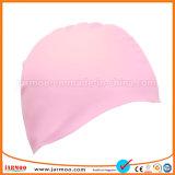 Tampão de natação brilhante do silicone da cor contínua da elasticidade elevada