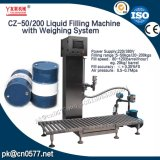 Máquina de rellenar líquida del barril con el pesaje para el detergente (CZ-50/200)