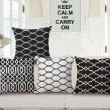 Home Dé Cr roupa de algodão Almofada Impressa Capa para sofá (35C0130)