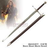 さや114 Cm HK81010cuが付いているBraveheartの剣の騎士剣