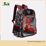 A criança feita sob encomenda da forma bonito caçoa sacos de livro da escola