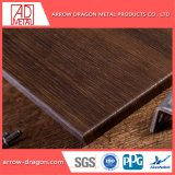 Painéis de alumínio alveolado cor de madeira para a decoração do Teto
