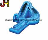 Kurven-Vorgangs-Weg-aufblasbares blaues Wasser-Plättchen