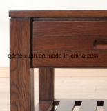 Самомоднейшая таблица ящика мебели комнаты древесины дуба живущий (M-X2483)
